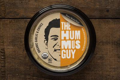 Thumb 400 the hummus guy organic hummus garlic chive 10 oz
