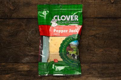 Thumb 400 clover pepper jack sliced 8 oz