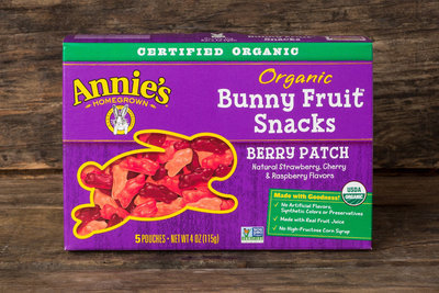 Thumb 400 annie s homegrown bunny fruit snacks berry patch 5 each