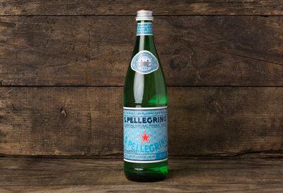 Thumb 400 san pellegrino sparkling mineral water in glass 750 ml