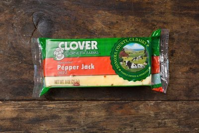 Thumb 400 clover pepper jack block 8 oz