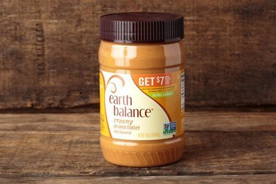 Thumb 400 earth balance creamy no stir peanut butter 16 oz